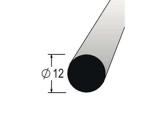 Lišta kruhová masivní 12 x 900 mm dub