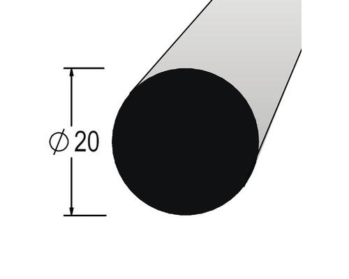 Lišta kruhová masivní 20 x 900 mm dub