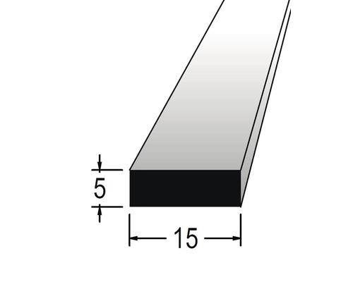 Hranolek obdélníkový 5 x 15 x 900 mm dub