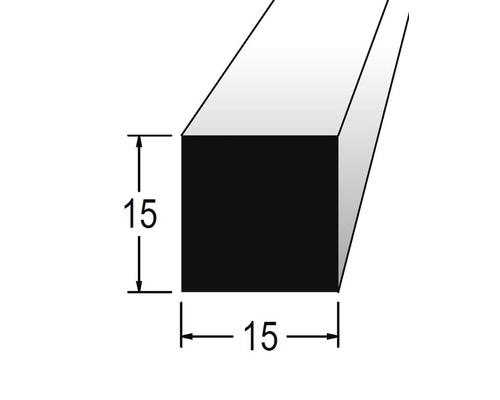 Hranolek čtvercový 15 x 15 x 900 mm dub