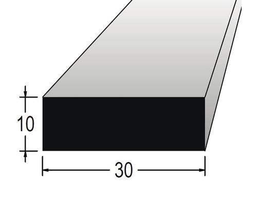 Hranolek obdélníkový 10 x 30 x 900 mm dub