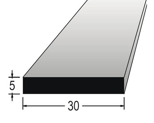 Hranolek obdélníkový 5 x 30 x 900 mm dub