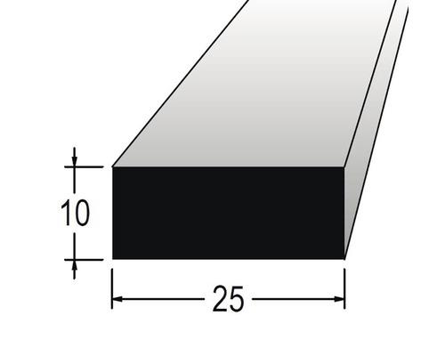 Hranolek obdélníkový 10 x 25 x 900 mm dub