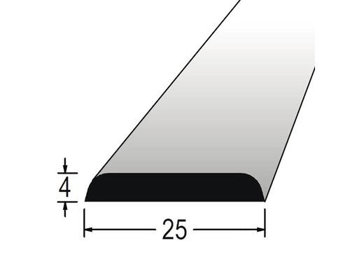 Krycí lišta nastavovaná 4 x 25 x 2400 mm dub