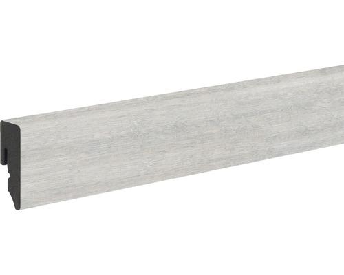 Soklová lišta Skandor PVC dub šedý KU048L 15 x 39 x 2 400 mm