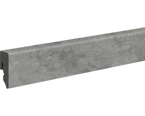 Soklová lišta Skandor PVC Nimbus dark KU048L 15 x 39 x 2 400 mm