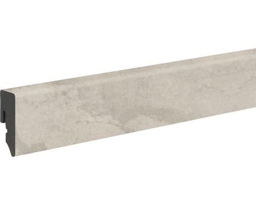 Soklová lišta Skandor PVC Nimbus béžová KU048L 15 x 39 x 2400 mm