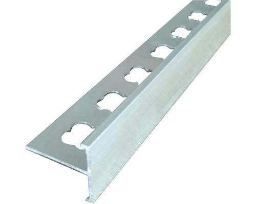 Ukončovací profil T pro kamenný koberec Den Braven 2,5 m 10 mm