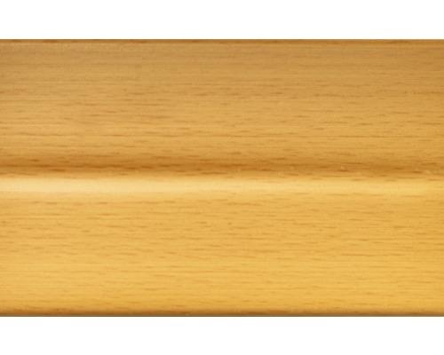 Podlahová lišta 012/8509 dřevo-buk světlý