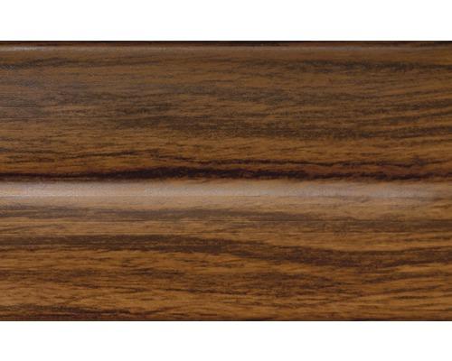 Podlahová lišta 012/031 dřevo- ořech