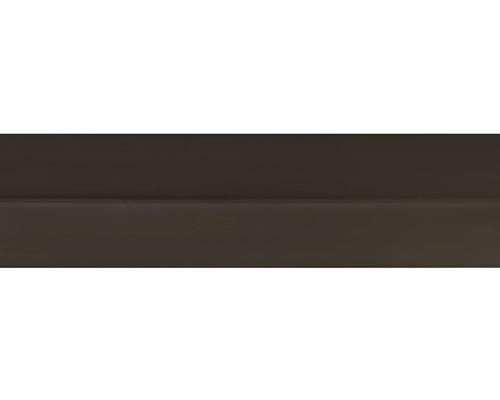Podlahová lišta 011/305, tmavě hnědá