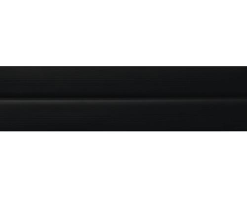 Podlahová lišta 011/201, černá