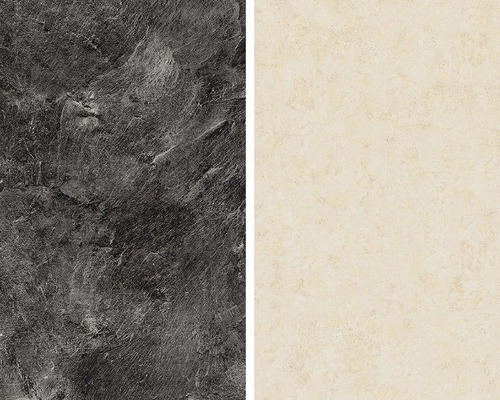 Obkladová deska Polyform 10 x 640 x 4100 mm oboustranná mramor štípaný/roche béžová