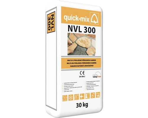 Malta QUICK MIX NVL 300 pro pokládání přírodního kamene 30 kg šedá