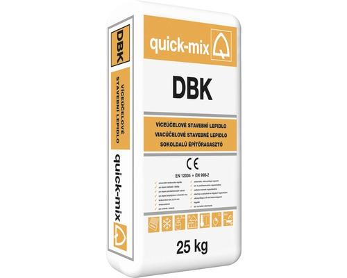 Stavební lepidlo QUICK MIX DBK C1T univerzální mrazuvzdorné 25 kg