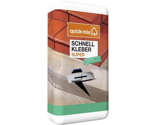 Flexibilní lepidlo na obklady a dlažbu QUICK MIX BKS C2FT S1 mrazuvzdorné 10 kg