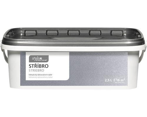 HO StyleColor Stříbro 2,5 L