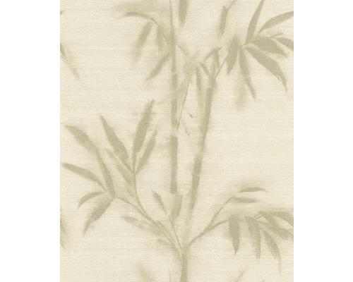 Vliesová tapeta Mandalay, motiv květiny, béžová