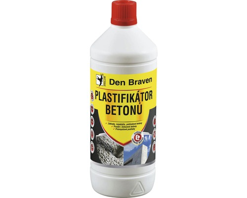 Plastifikátor betonu DEN BRAVEN 1 l