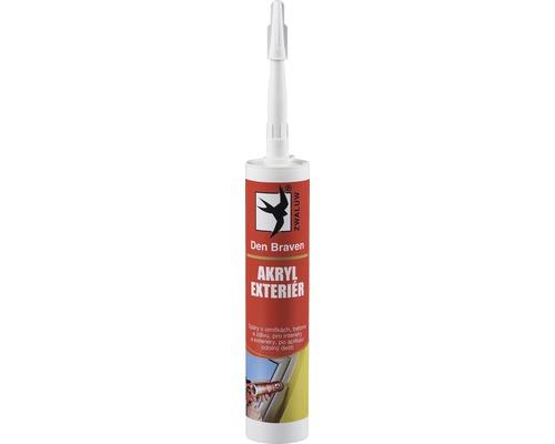 Akrylový tmel DEN BRAVEN Exteriér 310 ml bílý