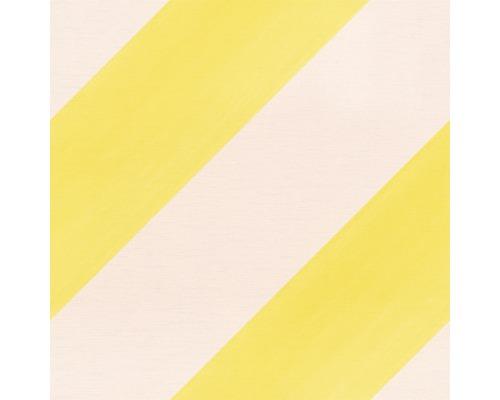 Vliesová tapeta Bambino XVIII, motiv geometrický, růžovo-žlutá