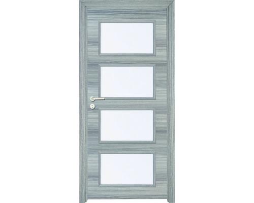 Interiérové dveře Colorado 5 prosklené 80 L dub šedý horizont