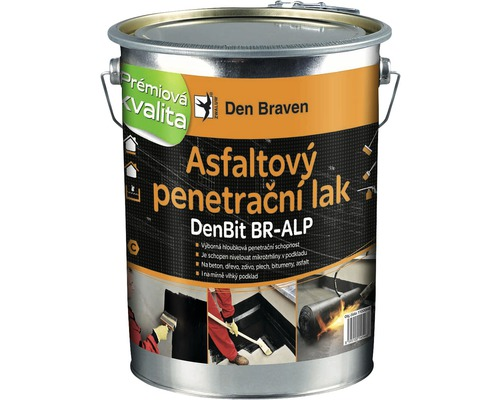Asfaltový penetrační lak DEN BRAVEN DenBit BR-ALP 4,5 kg