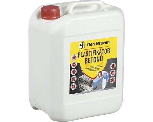 Plastifikátor betonu DEN BRAVEN 5 l