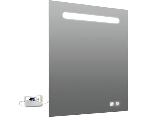 LED zrcadlo do koupelny Lina 60 x 80 cm IP44