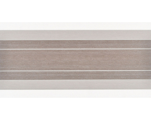 Dekor CRONOS Stripes Noce 25x50 cm