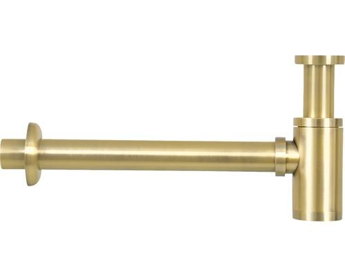 Umyvadlový sifon zlatá matná
