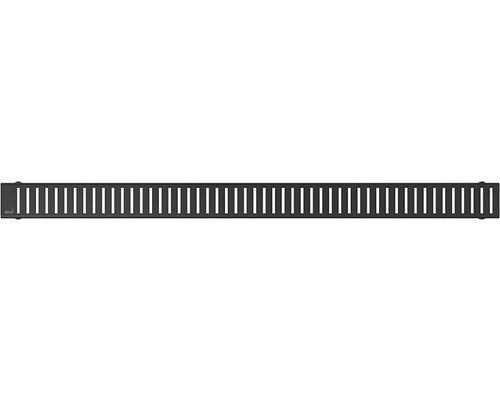 Rošt pro podlahový žlab Alcaplast Pure 1150 Black