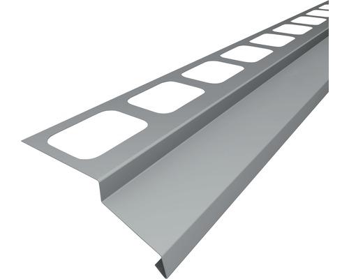 Balkonový profil PRECIT přímý 2000 mm hliník šedý