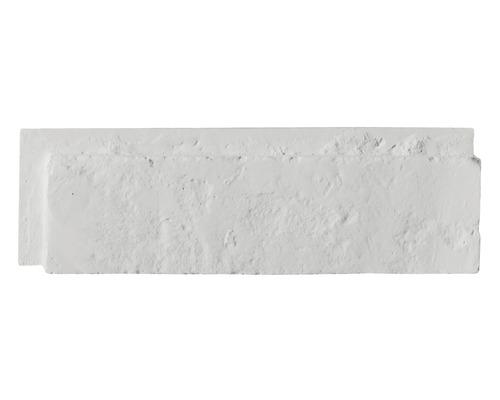 Obkladová cihla Modena bílý 25,5x7,5x3 cm