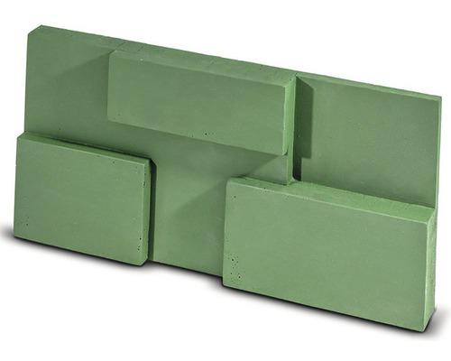 Obkladový kámen Squere zelený 30x15x4 cm