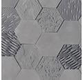 Obkladový kámen Hexagon 3D Dekor 20,5x37,5x17,5x2 cm