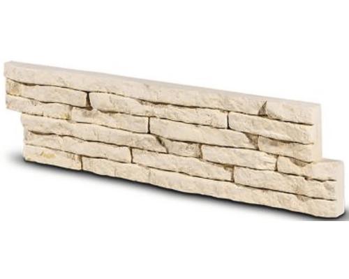 Obkladový kámen Tores krémový 35x9x2,1 cm