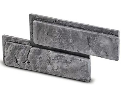 Cihlový obklad Botin šedá 33,5x14,5x2,5 cm
