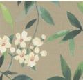 Vliesová tapeta Poetry, motiv květiny, hnědo-modrá