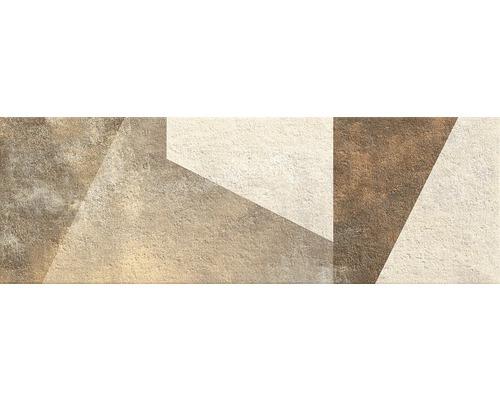 Dekor Madison Beige Geo 25x75 cm