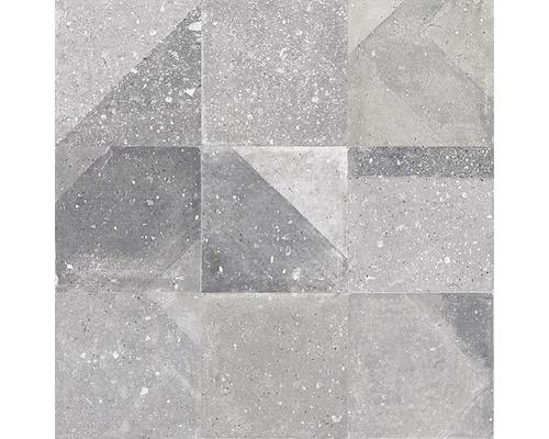 Dekor Century Acero 59,6x59,6 cm