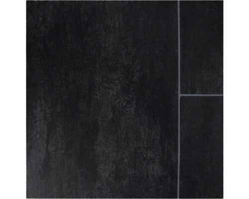 PVC podlaha NARVI 3M 2,8/0,25 dlažba černá