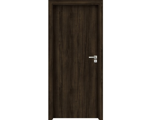 Interiérové dveře Single 1 plné 60 P ořech evropský (VÝROBA NA OBJEDNÁVKU)