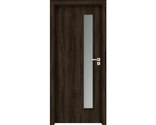 Interiérové dveře Sierra prosklené 90 P ořech evropský (VÝROBA NA OBJEDNÁVKU)