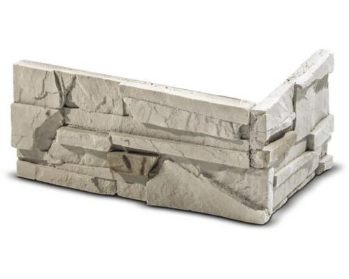 Obkladový kámen rohový Sorrento béžový 32x15,5x14,7x3,5 cm