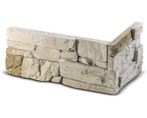 Obkladový kámen rohový Manus béžový 32x15x14,5x3,5 cm