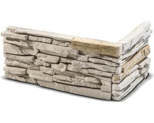Obkladový kámen rohový Santana hnědý 32x15,5x14,5x3,5 cm