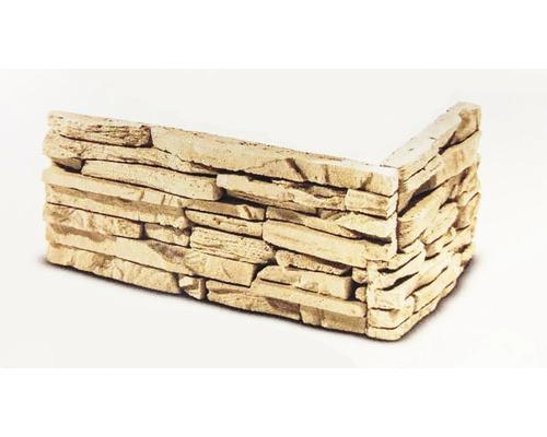 Obkladový kámen rohový Cubana 32x15,5x14,5x3,5 cm