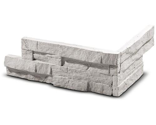 Obkladový kámen rohový Vertigo krémový 28,5x15,5x10x2,5 cm