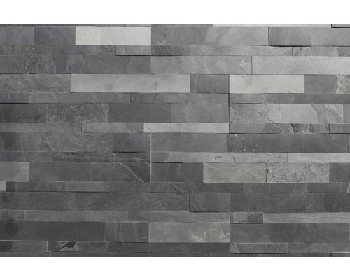 Obkladový kámen ALFIstick Břidlice černá 15x60 cm